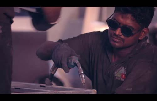 astrotech steels ad film by alter ego communications
