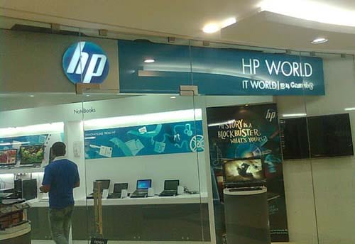 hp it world brand activation chennai alter ego communications