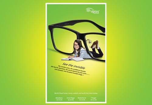 vijaya optical house voh portfolio alter ego communications