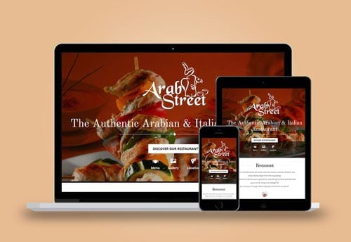arab street website design by alter ego communications