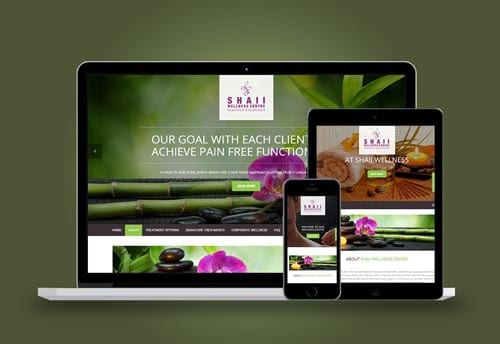 shaii wellness website design by alter ego communications
