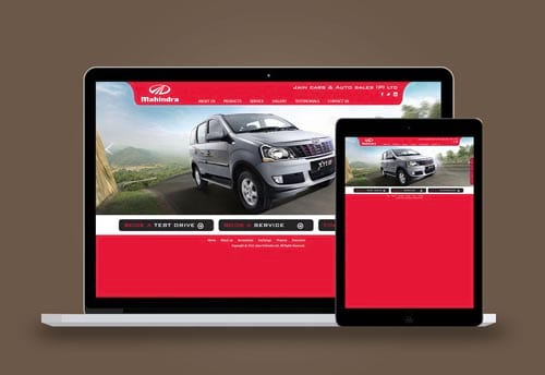 jubliant nissan website design by alter ego communications